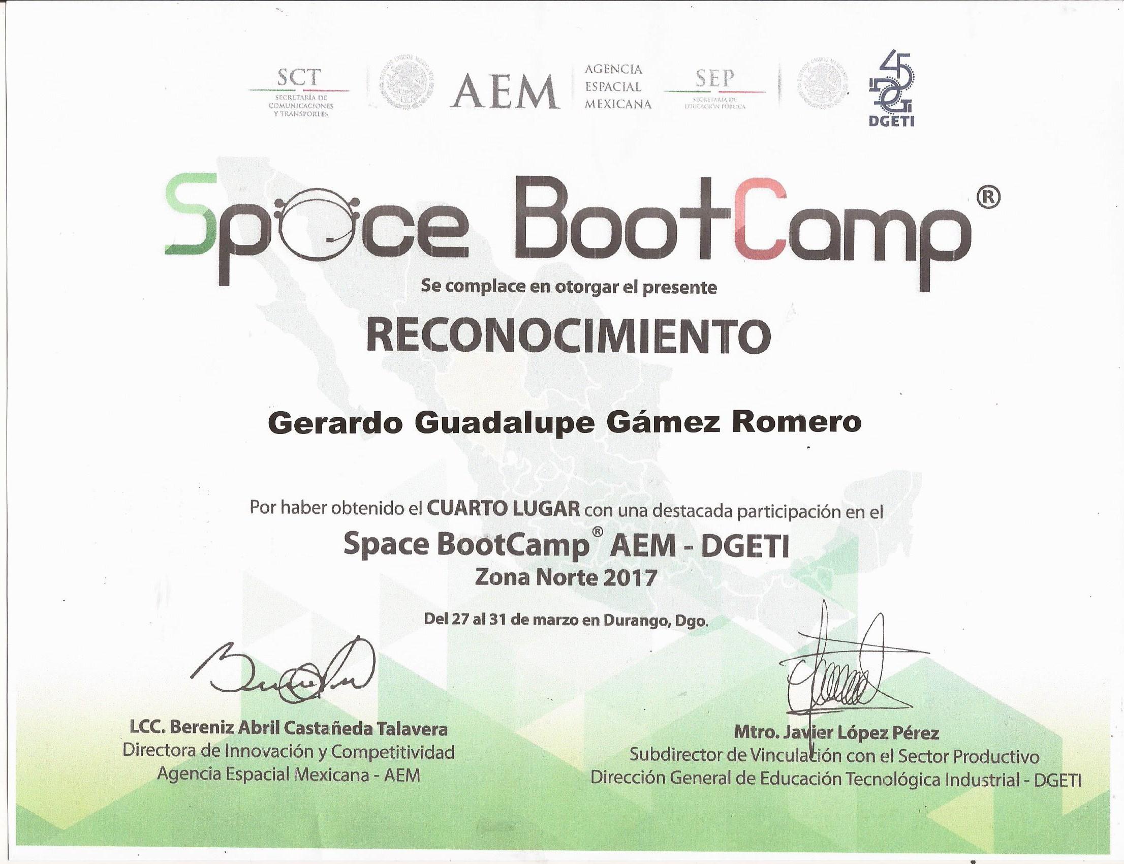 GAMEZ ROMERO 4 LUGAR