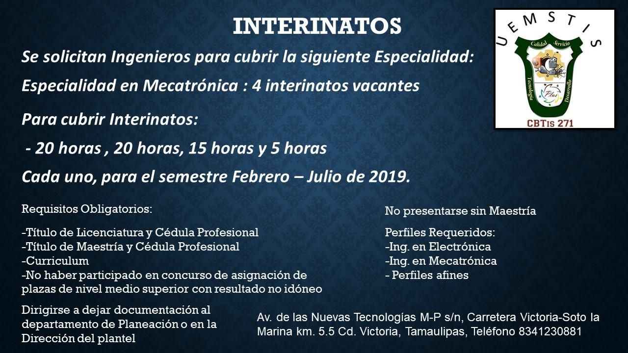 INTERINATOS 2019